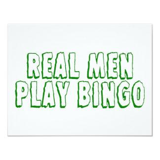 Real Men Play Bingo 2 Card