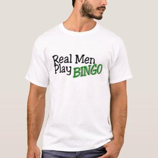 Real Men Play Bingo 3 T-Shirt