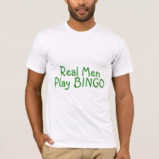 Real Men Play Bingo T-Shirt