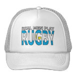 Real Men Play Rugby Argentina Trucker Hat