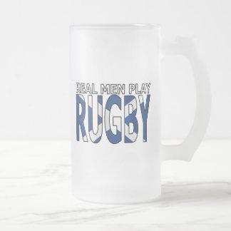 Real Men play Rugby Scotland Mug