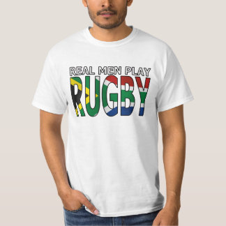 Real Men play Rugby South Africa T-shirt