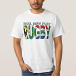Real Men play Rugby South Africa T Shirts