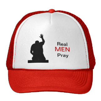 Real Men Pray Trucker Hat