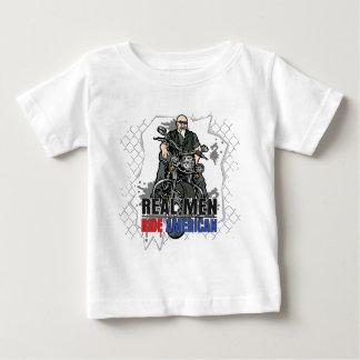 Real Men Ride American Baby T-Shirt