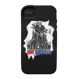 Real Men Ride American Bikes iPhone4 Case Vibe iPhone 4 Cover