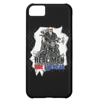 Real Men Ride American Bikes iPhone4 Case iPhone 5C Cover