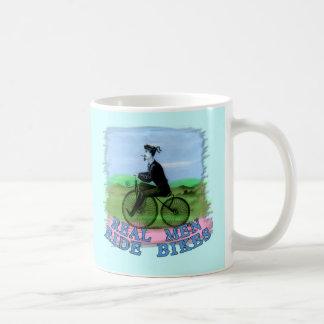 Real Men Ride Bikes Products Coffee Mug