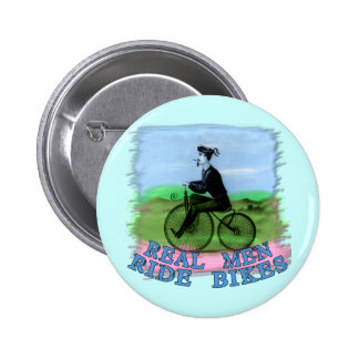 Real Men Ride Bikes Products Pins