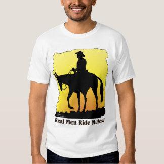 Real Men Ride Mules Shirt
