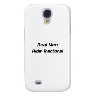 Real Men Ride Tractors Tractor Gifts By Gear4gearh Galaxy S4 Case