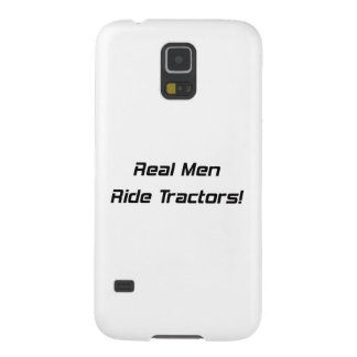 Real Men Ride Tractors Tractor Gifts By Gear4gearh Galaxy S5 Cover