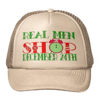 REAL MEN SHOP DECEMBER 24TH TRUCKER HAT