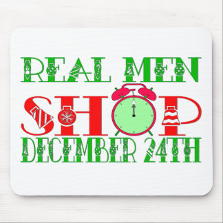 REAL MEN SHOP DECEMBER 24TH MOUSE PAD
