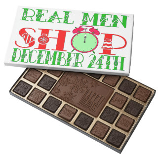 Real Men Shop December 24th! 45 Piece Box Of Chocolates
