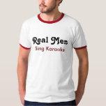 Real Men Sing Karaoke Playera