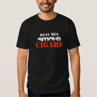 Real Men Smoke Cigars T Shirts