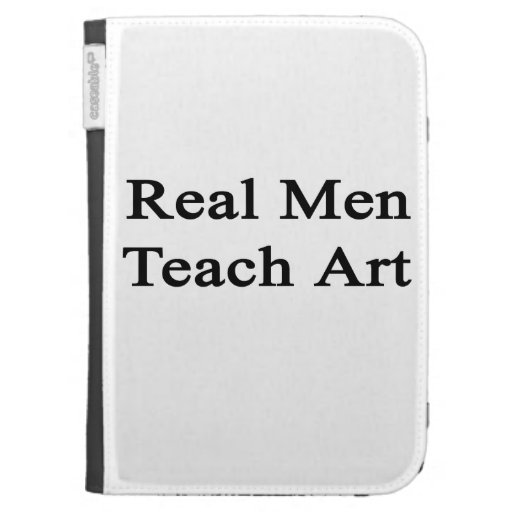 Real Men Teach Art Kindle 3G Cover