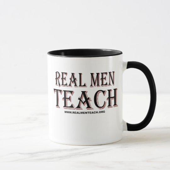 Real Men Teach Mug