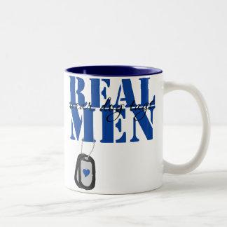 Real Men Two-Tone Coffee Mug