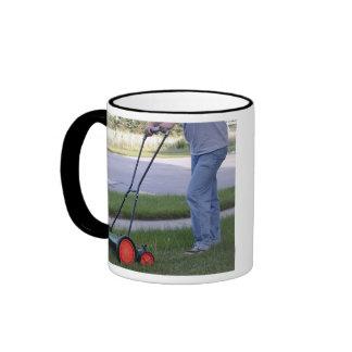 """""""Real men use reel mowers"""" mug"""