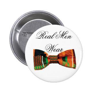 Real Men Wear Bowties Pin