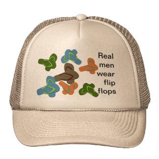 Real Men Wear Flip Flops Trucker Hat
