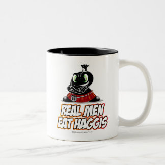 Real Men Wear Haggis Coffee Mug