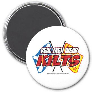 Real Men Wear Kilts 2 Refrigerator Magnet