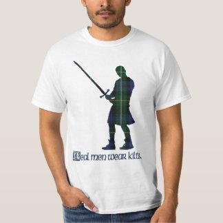Real Men Wear Kilts Campbell Scottish Tartan T-Shirt