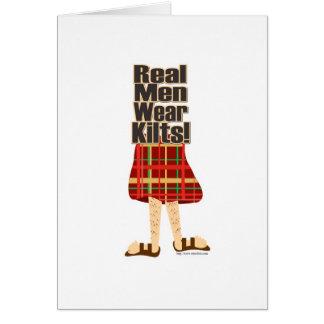 Real Men Wear Kilts Card
