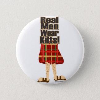 Real Men Wear Kilts Pinback Button