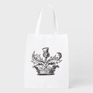 Real Men Wear Kilts reusable grocery bag