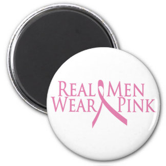 real men wear pink 2009 magnet