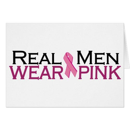 Real Men Wear Pink Card