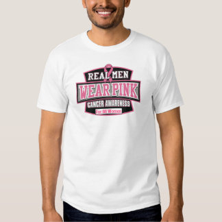 Real Men Wear Pink For All Women - Breast Cancer Tee Shirt