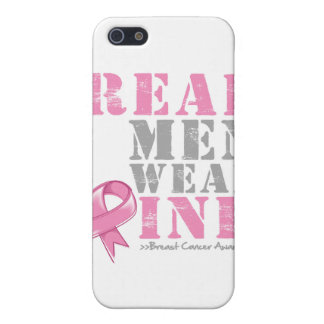 Real Men Wear Pink iPhone 5 Cases