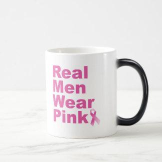 Real Men Wear Pink Magic Mug