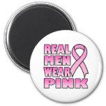 real men wear pink Magnet