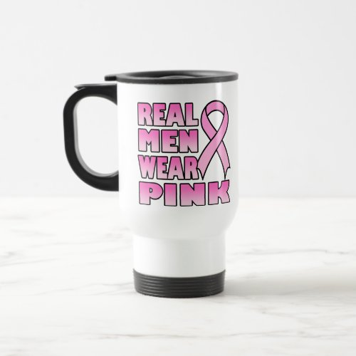 real men wear pink Mug zazzle_mug