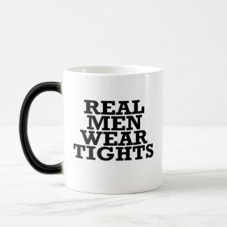 Real men wear tights magic mug