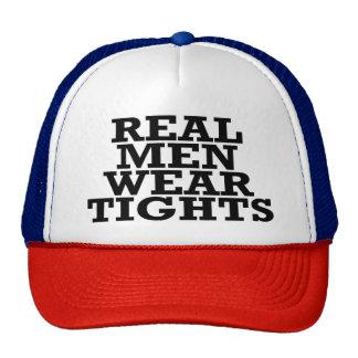 Real men wear tights trucker hat