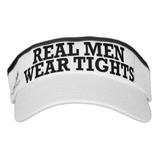 Real men wear tights visor