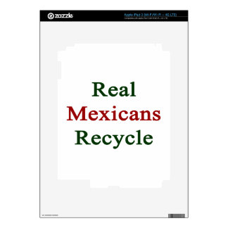 Real Mexicans Recycle Decals For iPad 3