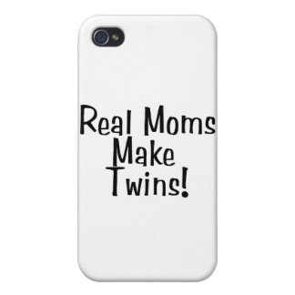 Real Moms Make Twins iPhone 4 Covers