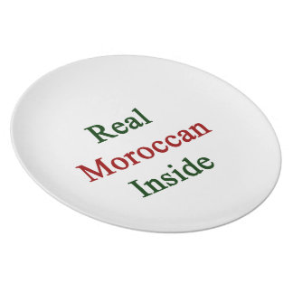 Real Moroccan Inside Party Plates