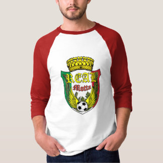 Real Motta 3/4 Sleeve Raglan T - Shirt
