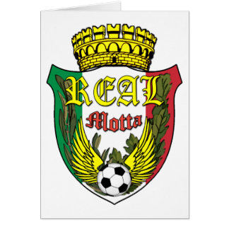 Real Motta Logo Greeting Cards