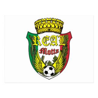 Real Motta Logo Postcard