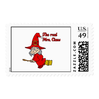 Real Mrs Claus Postage